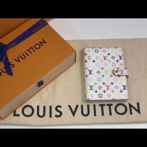 Authentic Louis Vuitton multicolor NM agenda pm